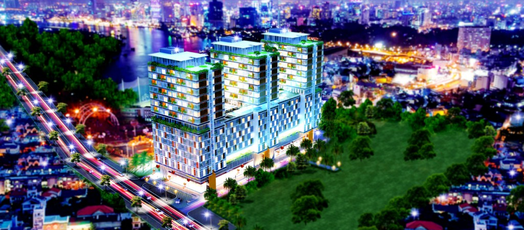 Căn hộ Officetel Charmington La Pointe 10