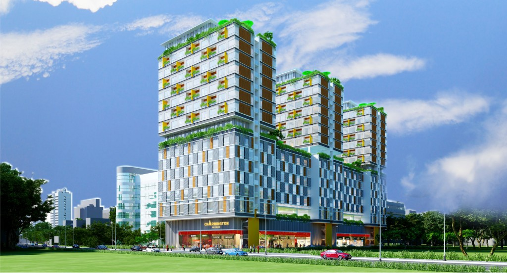 Căn hộ Officetel Charmington La Pointe 11