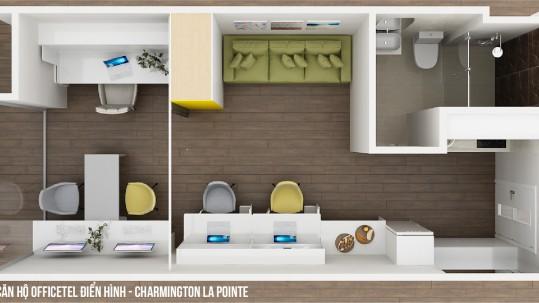Căn hộ Officetel Charmington La Pointe 31