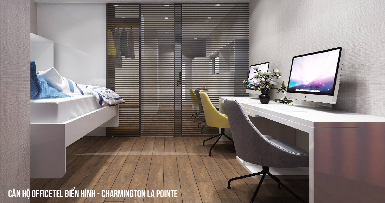 Căn hộ Officetel Charmington La Pointe 32