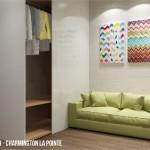 Căn hộ Officetel Charmington La Pointe 33