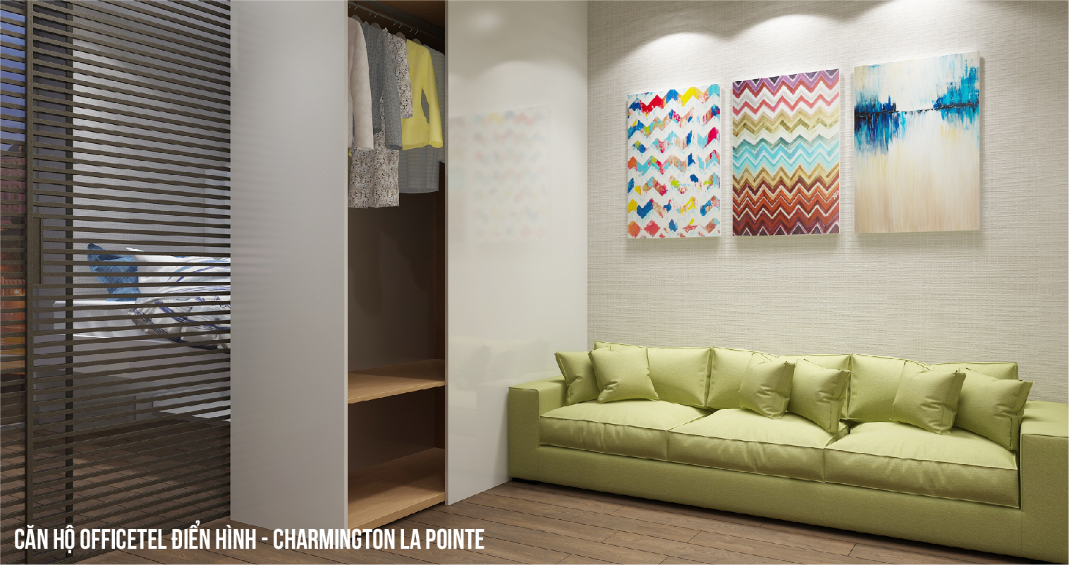 Căn hộ Officetel Charmington La Pointe 33