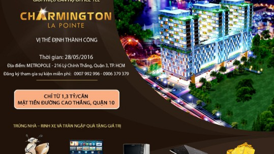 Co hoi vang so huu office-tel charmington la pointe